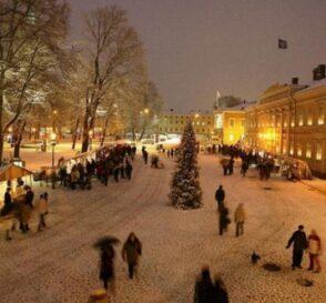 Viajar a Helsinki en invierno y Navidad 2