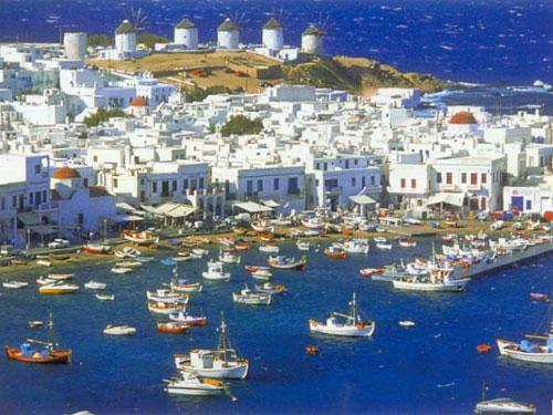 Mykonos, la reina de las Islas Cícladas