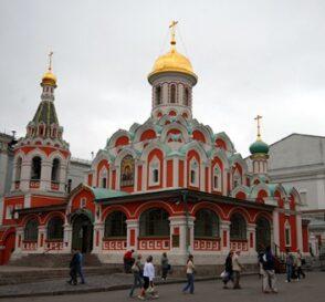 La Catedral de Nuestra Señora de Kazán en Moscú 2