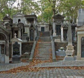 El Cementerio de Pere Lachaise en París 1
