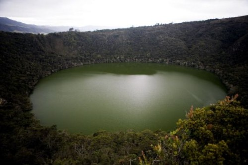 La Laguna de Guatavita en Colombia 1