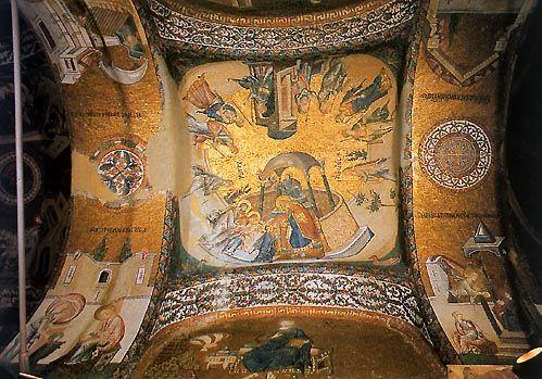 La Iglesia de San Salvador de Chora en Estambul