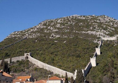 Ston, las murallas de Croacia 8