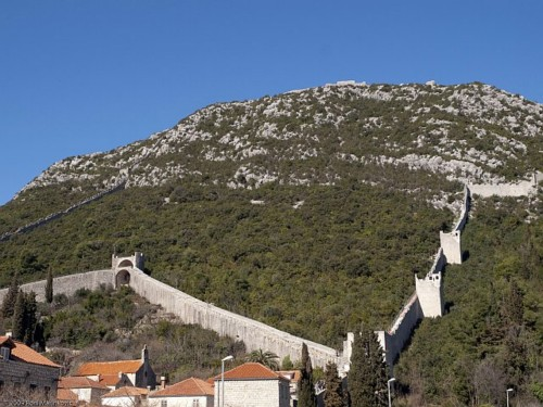Ston, las murallas de Croacia