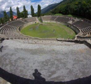 Martigny, ruinas romanas en Suiza 2