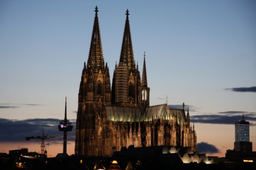 Subir a la torre de la Catedral de Colonia 1