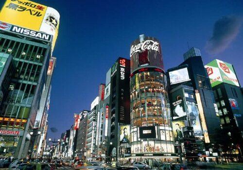 Barrio de Ginza, lujo exclusivo en Tokio 8