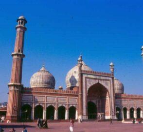 La Mezquita Jama Masjid en Delhi 2