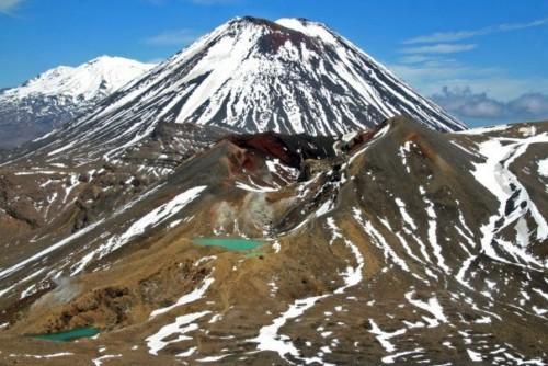 El Parque Nacional Tongariro en Nueva Zelanda 1