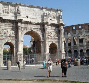 El Arco de Constantino en Roma 2