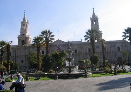 Arequipa, la ciudad blanca en Perú 1
