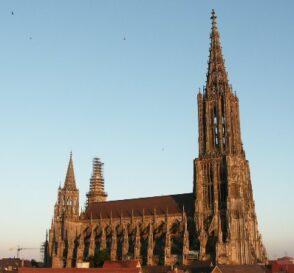 Subir a la torre de la Catedral de Ulm en Alemania 2