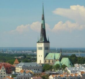 La Iglesia de San Olav en Tallin 2