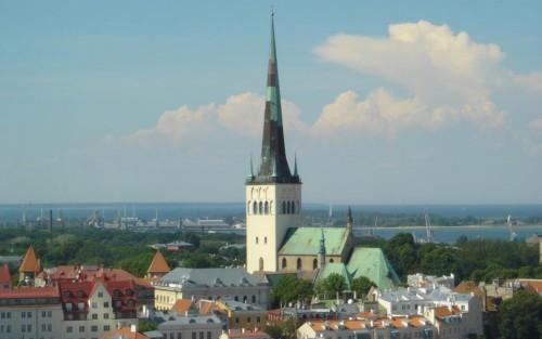La Iglesia de San Olav en Tallin 4