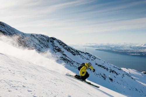 Esquiar en Noruega