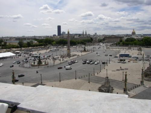 La Plaza de la Concordia en París 1