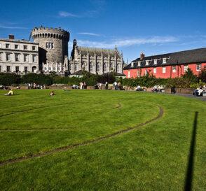 Disfruta de los paisajes verdes de Dublín 1