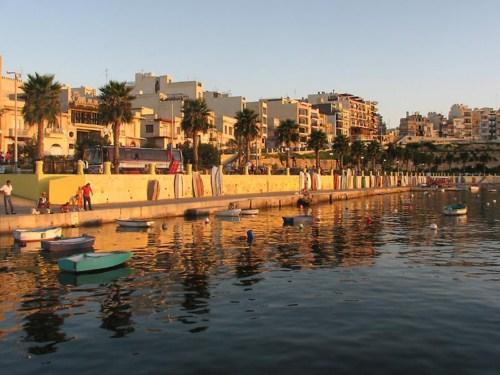 Bugibba, viaje romántico en Malta