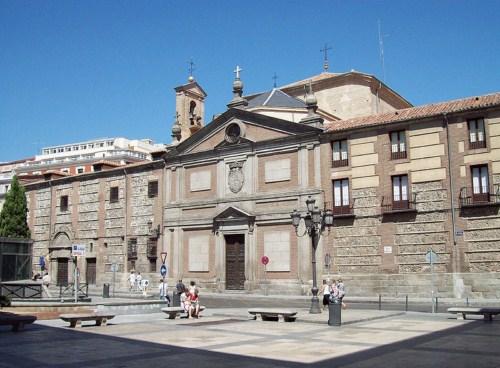 El Monasterio de las Descalzas Reales en Madrid