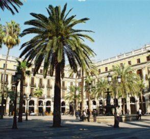 La Plaza Real en Barcelona 3