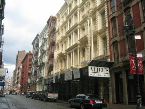 El barrio del Soho en Nueva York