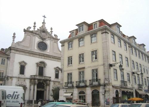 Iglesias en el Chiado, Lisboa 1