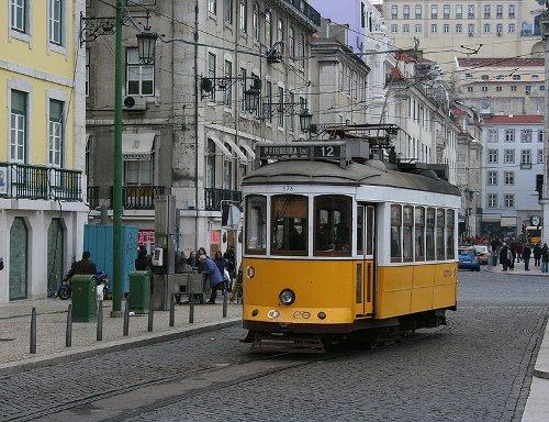 Lisboa en Tranvía 1