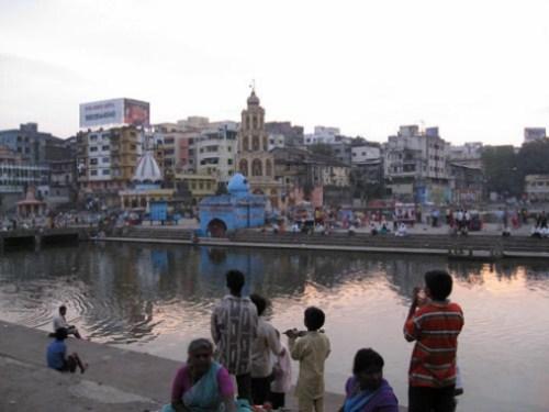 Ciudades sagradas en Maharastra, India