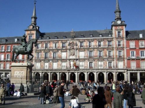 Pasar un domingo en Madrid