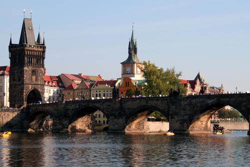 El Puente de Carlos en Praga 1