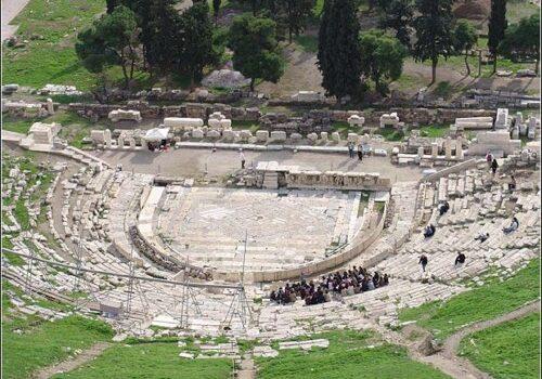 El Teatro de Dionisos en Atenas 5