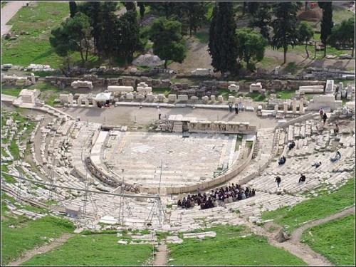 El Teatro de Dionisos en Atenas