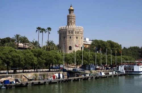 La Torre del Oro en Sevilla 1