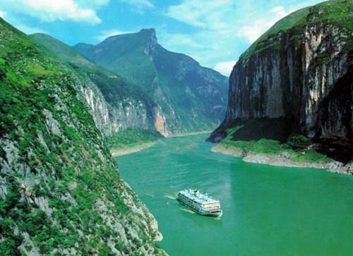 Cruceros por el río Yang-Tsé en China
