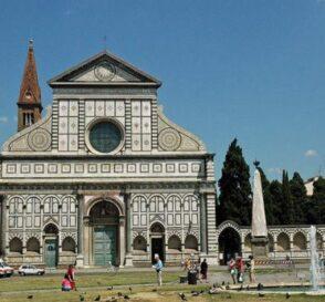 La Iglesia de Santa María Novella en Florencia  1
