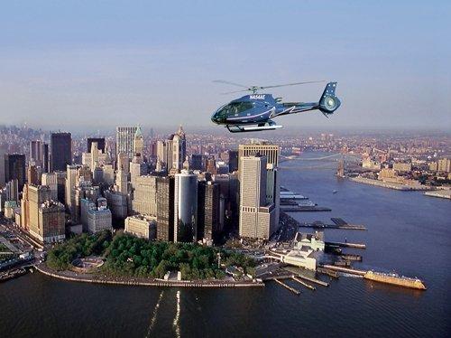 Rutas en helicóptero por Nueva York