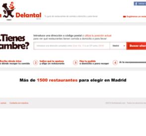 SinDelantal, web de restaurantes de comida a domicilio 5