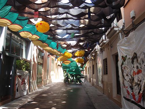 Fiestas de Gràcia en Barcelona 1