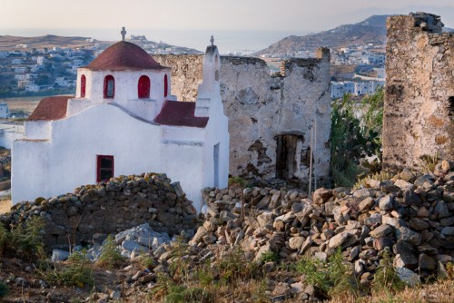 Ano Mera, pueblo tranquilo en Mykonos 17