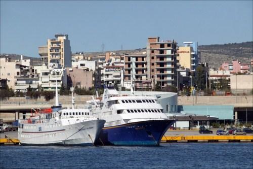 Cruceros desde el Pireo en Atenas