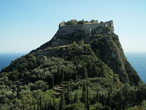 Isla de Corfu en Grecia