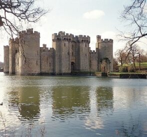 Castillo de Bodiam en East Sussex, Inglaterra 1