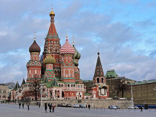 Catedral de San Basilio en la Plaza Roja de Moscú 1