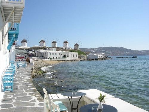 Mykonos, capital de la isla de Mykonos