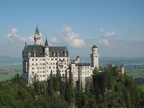 Alrededores de Munich, edificios de ensueño 1