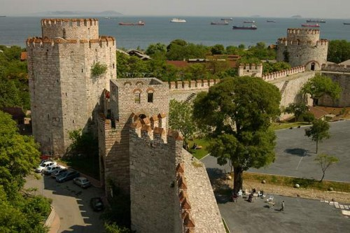 La Fortaleza de Yedikule en Estambul