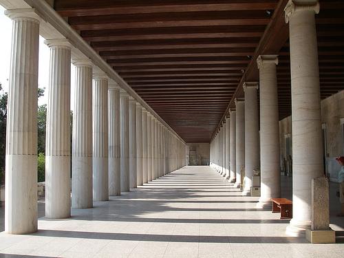 El Ágora de Atenas