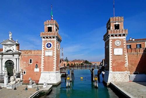 El Arsenal de Venecia, un astillero para la historia