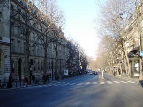 El Boulevard de Saint Michel, Barrio Latino en París