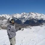 Nieve y montañas en Formigal